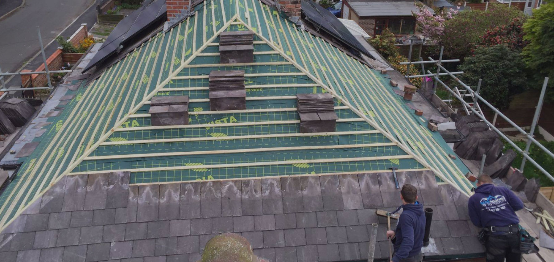 Efficient roofers in Barrowford, Nelson, Lancashire
